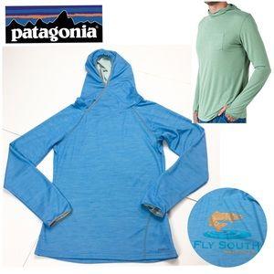 NWOT Patagonia Daily Roudup Hoody Gear Blue